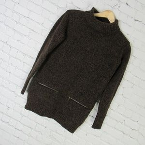 Burberry Sweater Womens Small S Brown Black